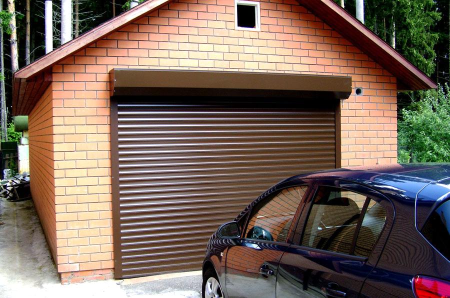 Рольворота в гараж